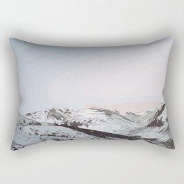 beautiful sunrise in Andorra ... Rectangular Pillow