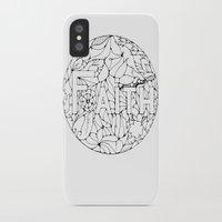 faith iPhone & iPod Cases featuring Faith by Gosia&Helena