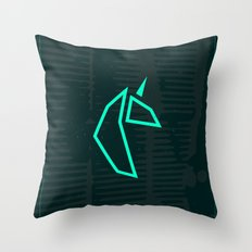 U-CRN Throw Pillow