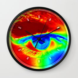 Heat Map, Fun Eye Wall Clock