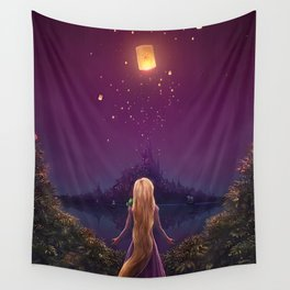Rapunzel  Wall Tapestry