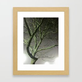 I Cannot Hit A Tree Framed Art Print