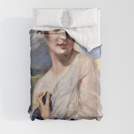 Leopold Schmutzler - Portrait of a lady - Digital Remastered Edition Comforters