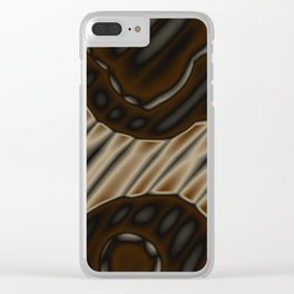 treaded reality Clear iPhone Case