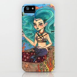 Dark Mermaid iPhone Case
