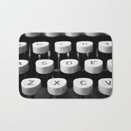 Vintage typewriter 3 Bath Mat