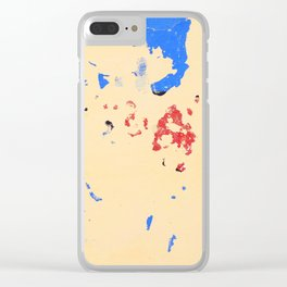 131. Destroy Yellow, Cuba Clear iPhone Case