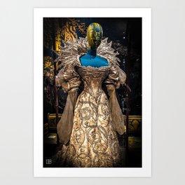 Dress. Art Print