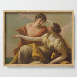 Bacchus and Ariadne Serving Tray