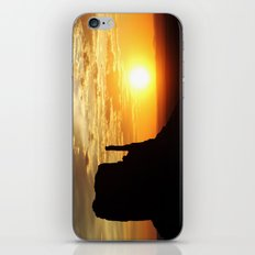Sunrise over Monument Valley West Mitten Butte iPhone & iPod Skin