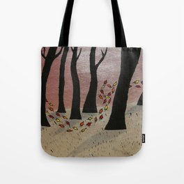 Leaf On The Wind Tote Bag