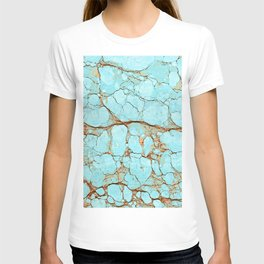 Rusty Cracked Turquoise T-shirt