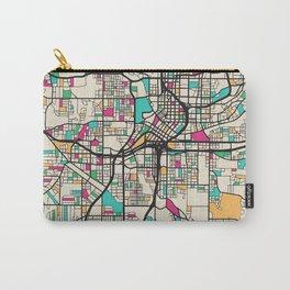 Colorful City Maps: Atlanta, Georgia Carry-All Pouch