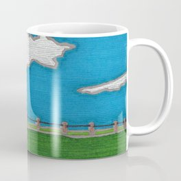 Windmill by Mali Vargas Coffee Mug