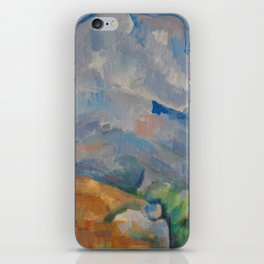 The Montagne Sainte-Victoire seen from the Bibémus quarry iPhone Skin
