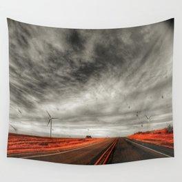 WindMill Farm Road Wall Tapestry