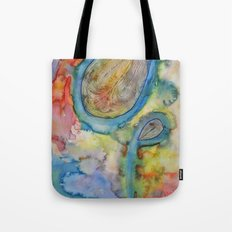 Dazed and Confused in Crazy Colors Tote Bag
