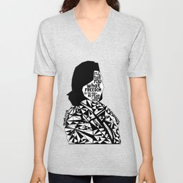 Breonna Taylor - Black Lives Matter - Series - Black Voices Unisex V-Neck