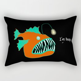 Deep Fish Rectangular Pillow