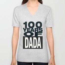 100 Years of DADA #2 Unisex V-Neck