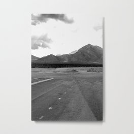 Where the City Ends, And Giants Take Over Metal Print