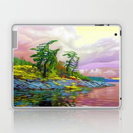Wind Sculpture by Amanda Martinson Laptop & iPad Skin