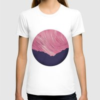 northern lights T-shirts featuring Northern lights 2 by Richard Seyb