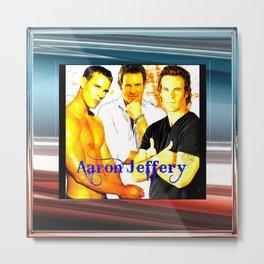 Aaron Jeffery Metal Print