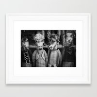 dragons Framed Art Prints featuring DRAGONS by TOM MARGOL