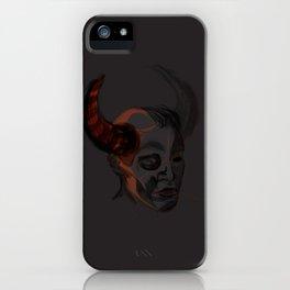 Trueforms #1 - demon!Dean iPhone Case