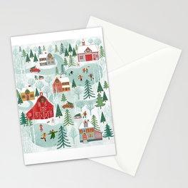 New England Christmas Stationery Cards