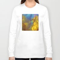 golden Long Sleeve T-shirts featuring Golden by Benito Sarnelli