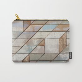Tile pattern from the Tile museum in Lisbon, Portugal - Travel photography Carry-All Pouch