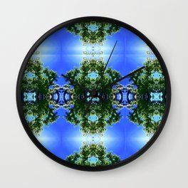 Hoola Tree Photography by Cecilia Lee Nature + Garbage Wall Clock