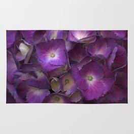 Purple Hydrangea Rug