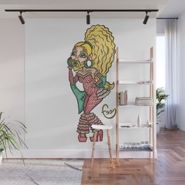 Fly girl Fossana Wall Mural