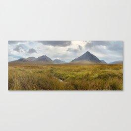 Glencoe, Scottish Highlands Canvas Print