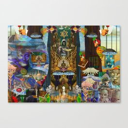 The Golden Cage Canvas Print