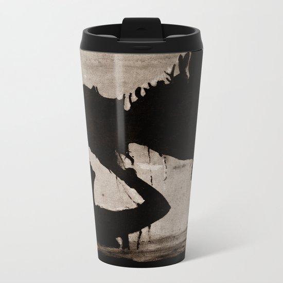 The kiss of the mermaid Metal Travel Mug