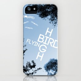Birds Flying High iPhone Case