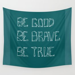 Be Love [in mid ocean teal] Wall Tapestry