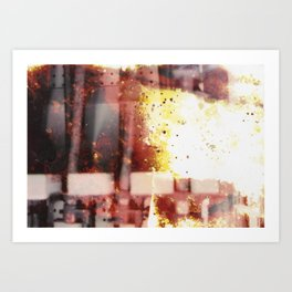 Films About Fire Art Print
