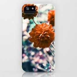 an angel's kiss in spring iPhone Case