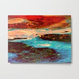 Watercolors Metal Print