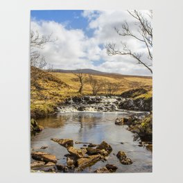 Moorland Falls Poster