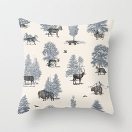 Where They Belong - Winter Throw Pillow