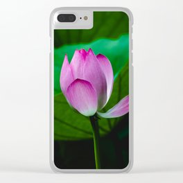 Imperfection is beauty Clear iPhone Case