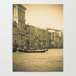 Venice, Grand Canal 5 Poster