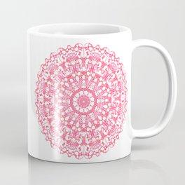 Mandala 12 / 3 eden spirit ruby red Coffee Mug