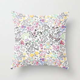 Heroes 2! Throw Pillow